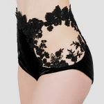 High Waist Brief Flora